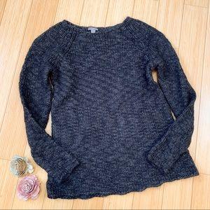 J. JILL alpaca blend crew neck sweater, S.